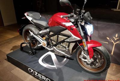 Zero presenta la nuova SR/F, naked elettrica ad alte prestazioni
