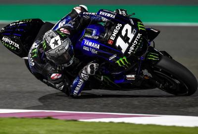 Test MotoGP: Viñales detta il passo a Losail