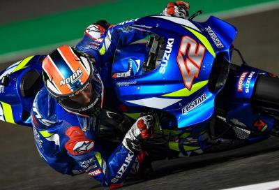 Test MotoGP, Day 2: Rins in vetta, bene le Yamaha