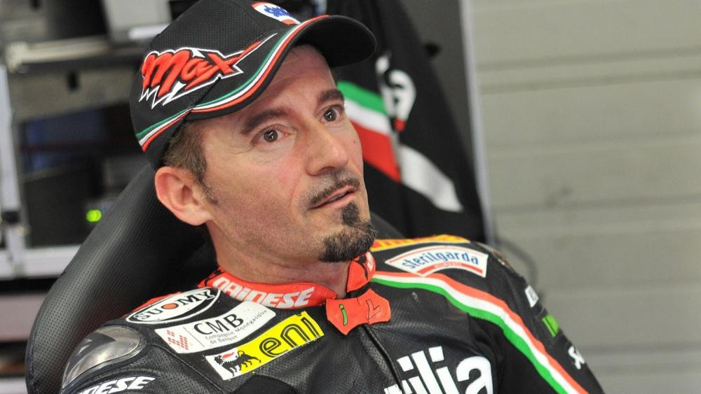 """Max Biagi: """"per adesso non tornerò in sella nei test MotoGP"""""""