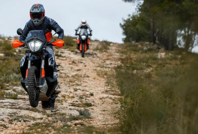 KTM 790 Adventure R: compatta, precisa e veloce