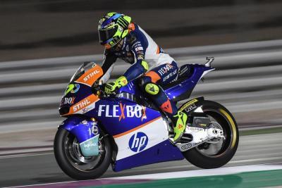Moto2: Baldassarri vince al fotofinish in Qatar