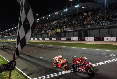 Bentornata, MotoGP: Dovizioso conquista Losail