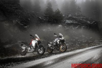 BMW R 1250 GS HP vs Ducati Multistrada 1260 Enduro