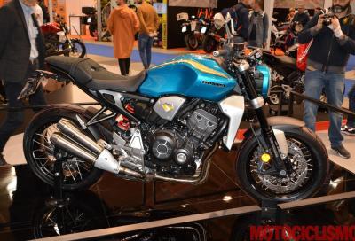 Honda CB1000R Tribute, omaggio al passato