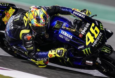 Rossi apre le danze a Losail: primo nelle FP1