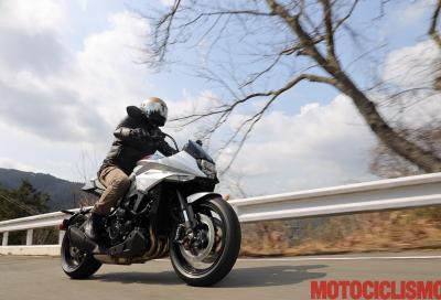 Test Suzuki Katana: a spada tratta