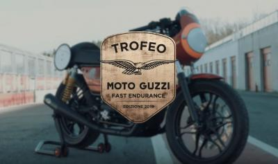 Moto Guzzi Fast Endurance: il Trofeo e il kit
