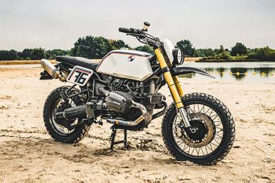 La BMW R 1100 GS è pronta a correre sulla sabbia