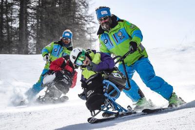 BMW SciAbile, sulla neve senza barriere