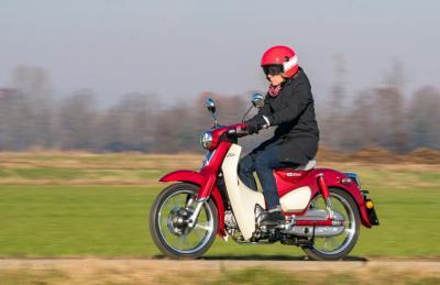 Honda Super Cub, ben arrivato!
