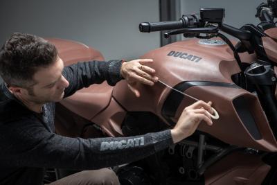La Ducati Diavel 1260 premiata per il suo design