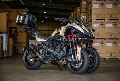 Yamaha Niken: 3 ruote e... un turbo!