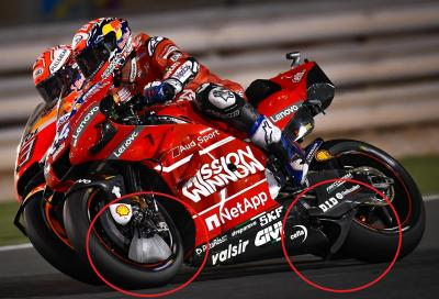 """Caso Ducati: """"pinna"""" regolare e vittoria a Dovizioso"""