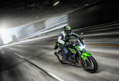 In azione con la nuova Kawasaki Z400