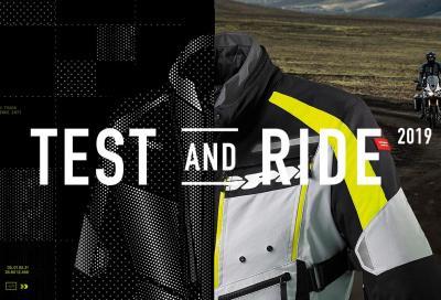 Test and Ride 2019, diventa tester Spidi per un anno