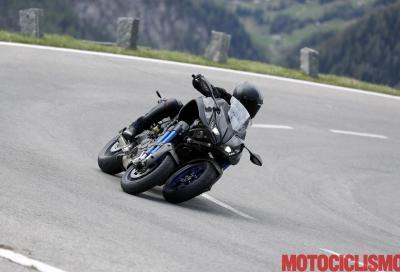 Premiato il design della Yamaha Niken