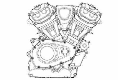 Harley-Davidson, in arrivo un nuovo bicilindrico a V di 60°