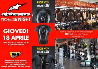 Alpinestars Tech-Air Night, alla scoperta della tecnologia air bag