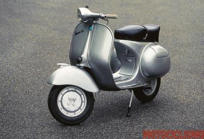 La Vespa 150 Gran Sport del 1954