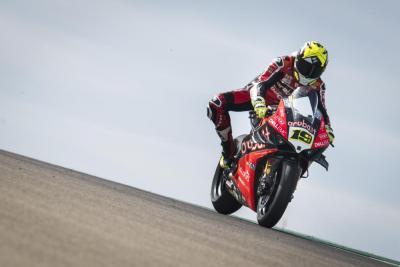 WSBK, Ducati: tolti 250 giri/min al motore della Panigale V4 R
