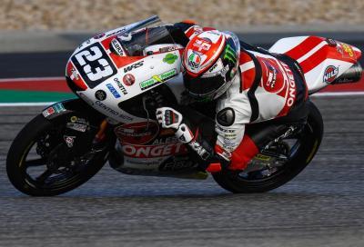 Austin: Antonelli ritrova la pole in Moto3