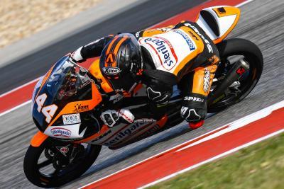 Canet vince al COTA, Migno torna sul podio in Moto3