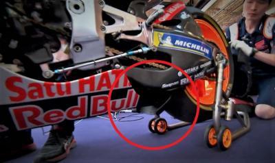 """Honda con la """"pinna"""" in stile Ducati. Marquez: """"Crea downforce"""""""