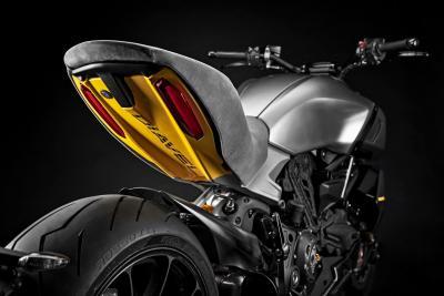 Ducati Diavel 1260 S Materico, dettagli curati