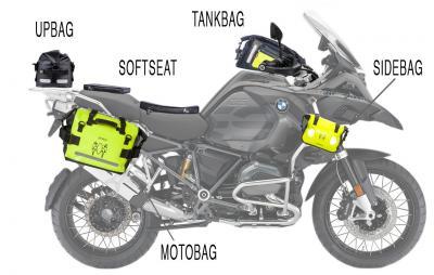 """Sconto sul """"Pacchetto Amphibious Borse Moto 2019"""""""