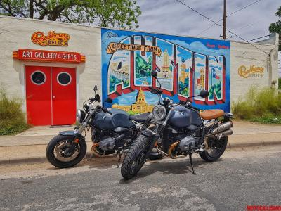 BMW R nineTexas, ride in USA