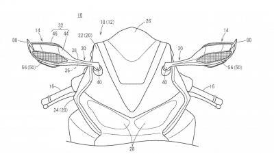 Appendici aerodinamiche sugli specchietti della nuova CBR1000RR?