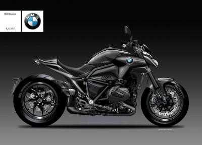 BMW R 1250 C Blackshine, prepotente muscle cruiser