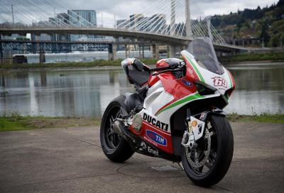 Ducati Panigale V4 Nicky Hayden, tributo al Kentucky Kid