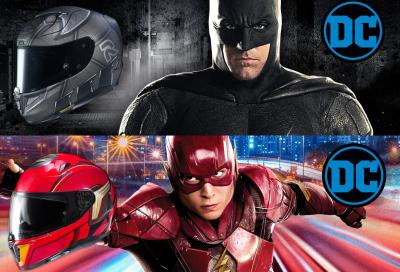 I nuovi HJC RPHA 11 Batman e i70 Flash