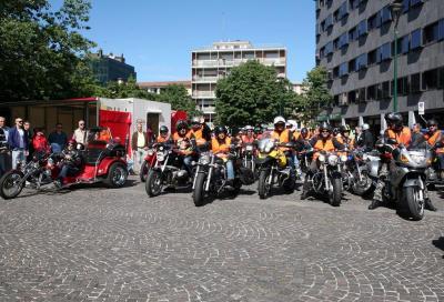 Il 6° Moto Giro per la sicurezza delle due ruote
