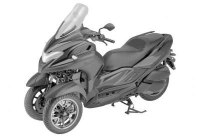Disegni Yamaha ci mostrano le linee definitive del tre ruote 3CT