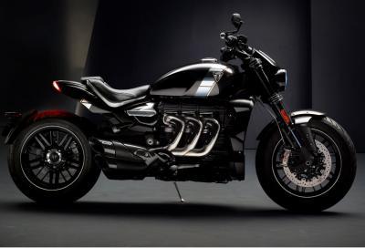 Nuova Triumph Rocket III TFC, 2.500 cc di muscoli