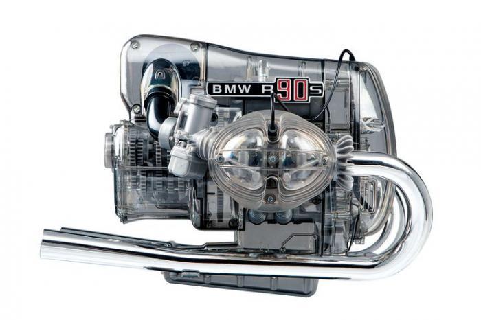 BMW R 90 S, il kit per costruire il boxer