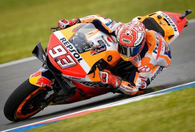 1° Marquez, 2° Lorenzo: Honda domina le FP1 di Jerez