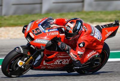 Ducati vola nelle FP2 di Jerez: 1° Petrucci, 2° Dovi