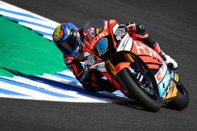 Jerez: prima pole di Navarro in Moto2