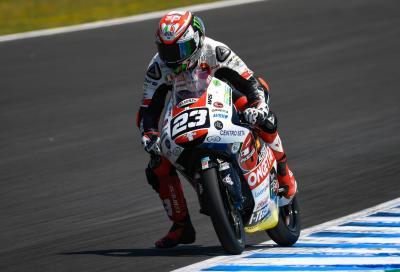 """Moto3: trionfo """"speciale"""" di Antonelli a Jerez"""
