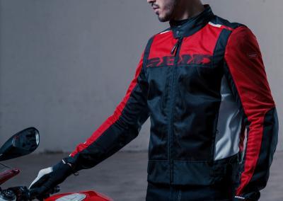 La giacca Spidi Solar Net Sport