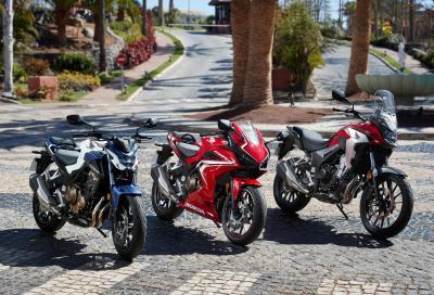 Perchè le Honda CB500F, CB500X e CBR500R non hanno il TC?