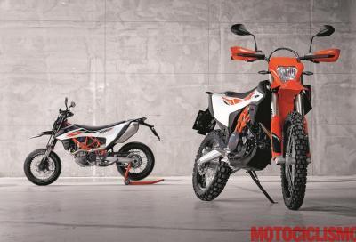 Pregi e difetti delle KTM 690 SMC R ed Enduro R 2019