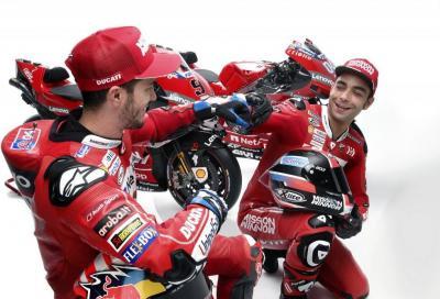 Novità Ducati, Dovizioso e Petrucci disegnano le carene di Le Mans