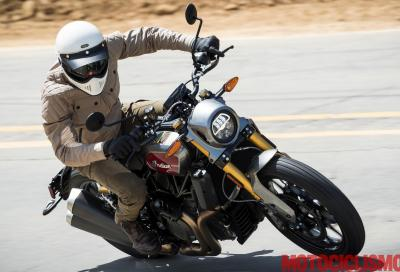 Indian FTR 1200 S: derivata dal flat track