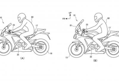 Honda studia una moto con posizione di guida variabile