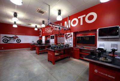 """Aperte le iscrizioni per la Ducati Summer School """"Fisica in Moto"""""""